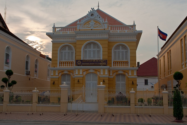 French colonial-era architecture in Battambang