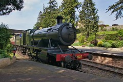2807 arriving Winchcombe, GWR