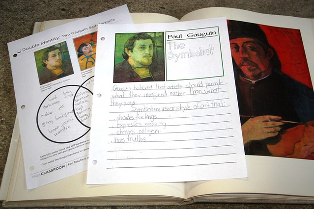 gauguin notebooking and book