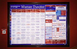 stage schedule 2001