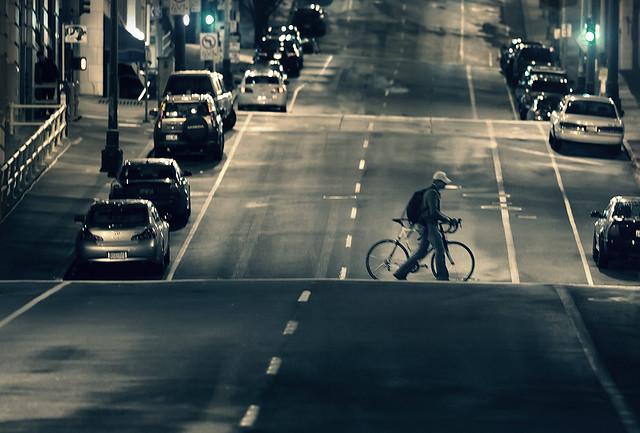 walking biker
