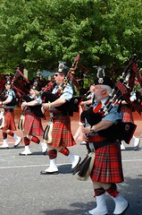 festival, musician, musical instrument, marching, bagpipes,