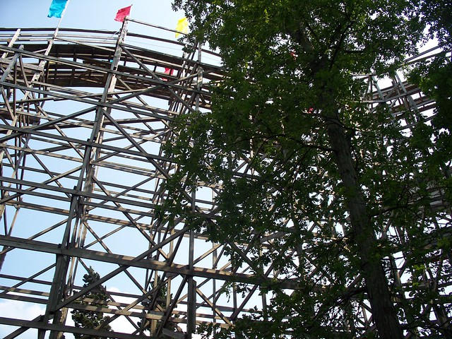 Holiday World - The Raven Lift Hill