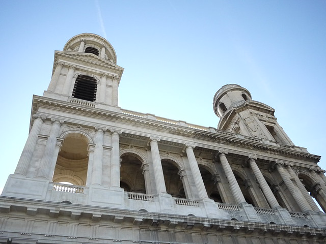 Eglise Saint-Sulpice towers