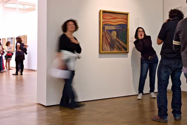 The Scream by Edvard Munch, Munch Museet, Oslo