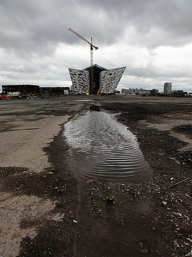 Titanic Slipway and Titanic Belfast Building