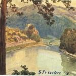 Burg Werfenstein und Insel Wörth 01