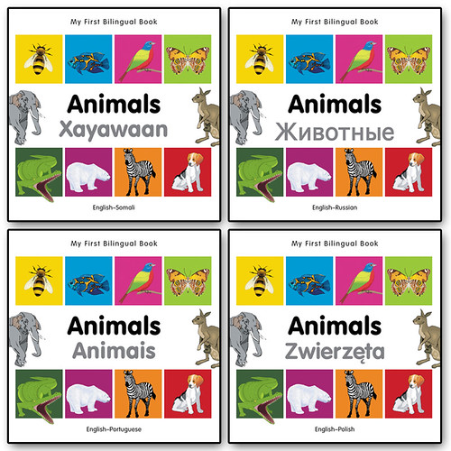"Grafikofis Animals Bilingual Books ""Milet Publishing"""