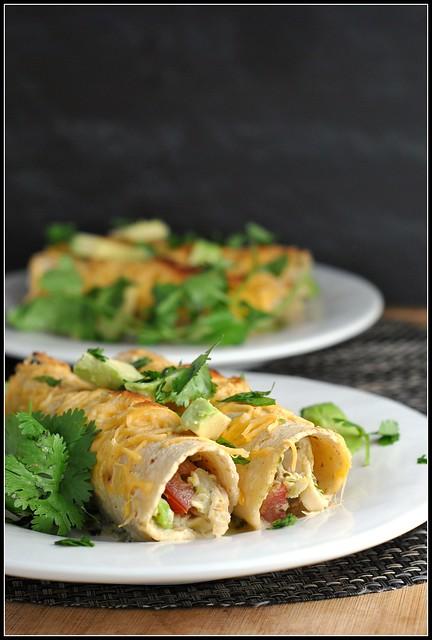 Chicken Enchilada Verdes 1