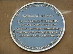 Photo of Arthur Harris blue plaque