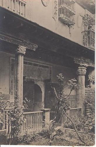 Museo Anastasio Páramo (Palacio de Benacazón) a comienzos del siglo XX