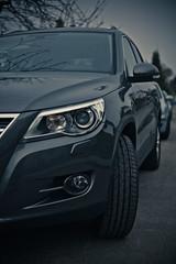 saab 9-4x(0.0), automobile(1.0), automotive exterior(1.0), volkswagen tiguan(1.0), sport utility vehicle(1.0), executive car(1.0), wheel(1.0), vehicle(1.0), automotive design(1.0), crossover suv(1.0), bumper(1.0), land vehicle(1.0),