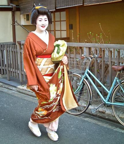 Geiko Takamaru (Gion, Kioto)