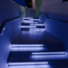 Blue stairs at night by arndt_100