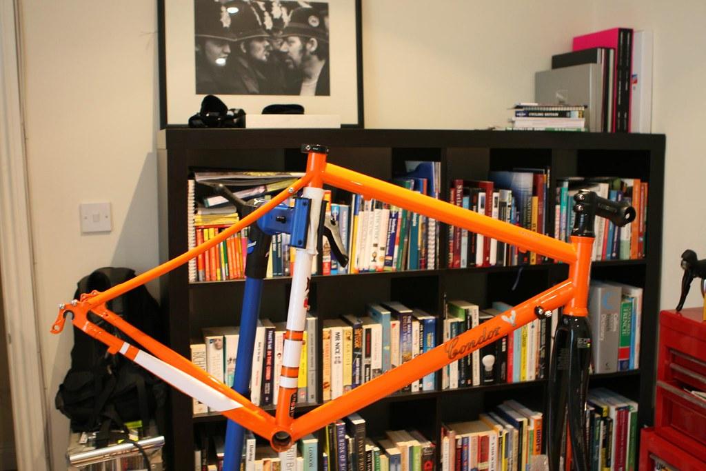 2011 Condor Fratello frameset in orange