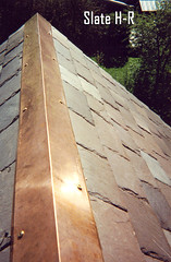 Copper Ridge on slate roof contractor boston ma