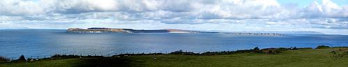 Rathlin Island. Panorama