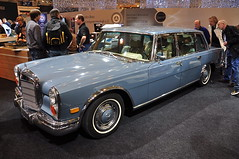 automobile, vehicle, auto show, mercedes-benz 600, antique car, sedan, classic car, vintage car, land vehicle, luxury vehicle, motor vehicle,