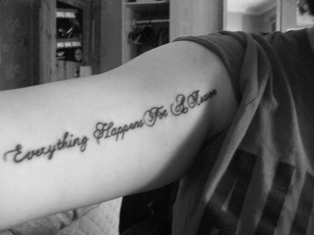 Gres Tatoo Tattoo Designs Everything Happens For A Reason