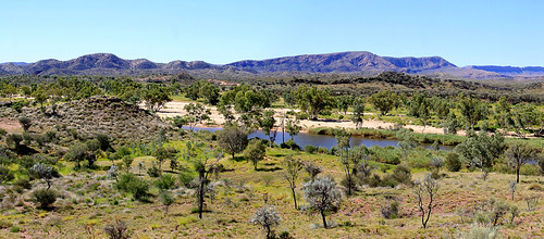 Finke River and MacDonnell Ranges