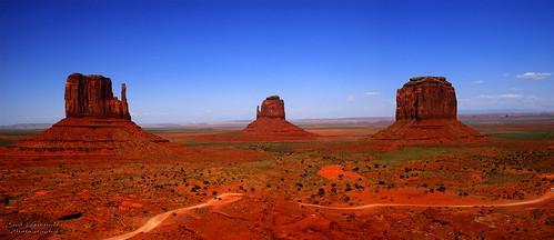 panorama utah monumentvalley navajoreservation mesa mittens mitten