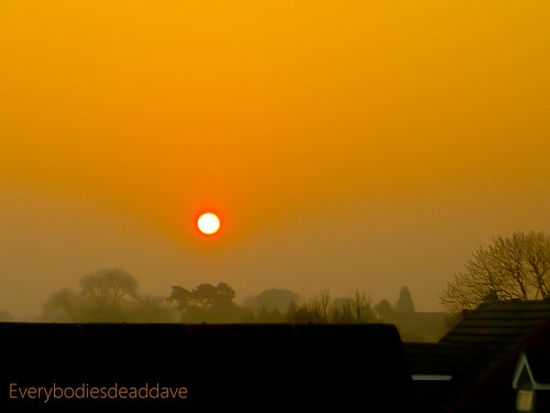 hello new morning red orange sun mist sunshine yellow misty sunrise early day leicestershire good leicester exz750 thesun casioexilimexz750 sunriseandsunsets kirbymuxloe mrfusion 10millionphotos perfectsunsetssunrisesandskys