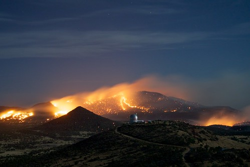 West Texas is On Fire (Credit: Frank Cianciolo/McDonald Observatory)