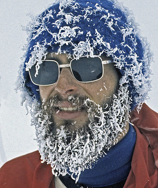 frozen beard