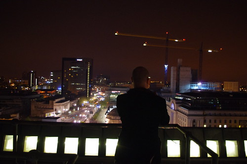 Ben Waddington looks over Centenary Square