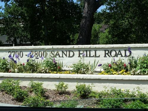 Menlo Park, California: Sand Hill Road