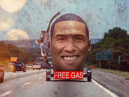 FREE GAS by Colonel Flick