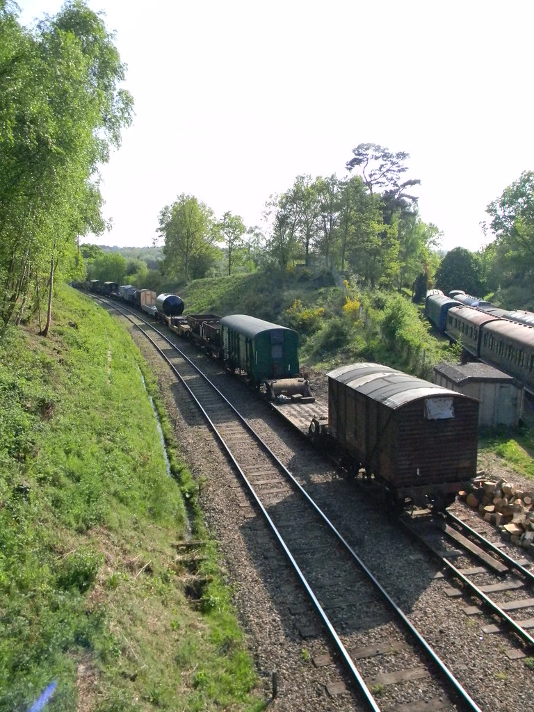 Old Goods Stock Spa Valley Line. Frant to Tunbridge Wells