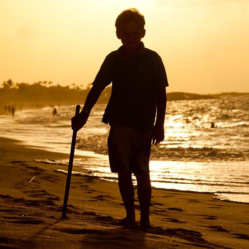 beach silhouette jackson atlantis bahamas nassau paradiseisland