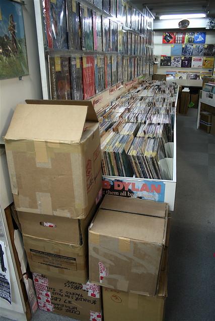 Record shops Tokyo Shinjuku - Warehouse