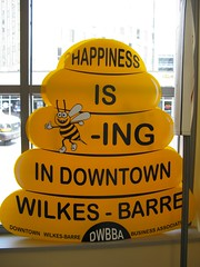 Happiness is Bee-ing Downtown