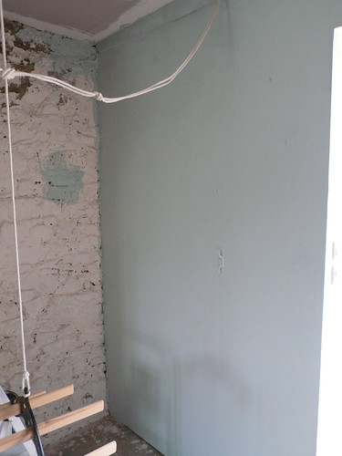wall - first coat