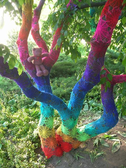 Knitting Trees Art : Crochet tree flickr photo sharing