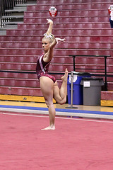TWU Gymnastics [Floor] Brittany Johnson