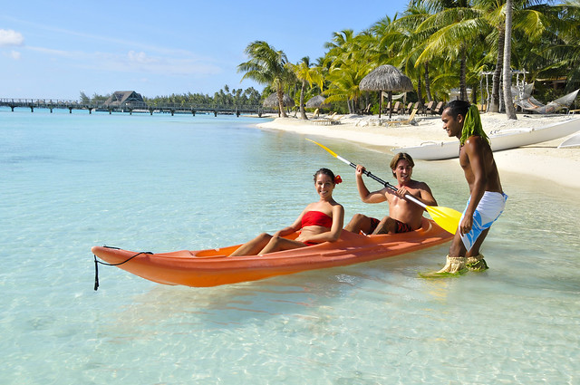 Canoe at InterContinental Bora Bora Resort & Thalasso Spa