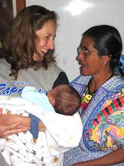 Denise & baby Jeremy
