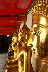Bangkok - Wat Pho, the Temple of the Reclining Buddha