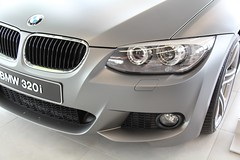 BMW 3 Carwrap Frozen Grey Mat