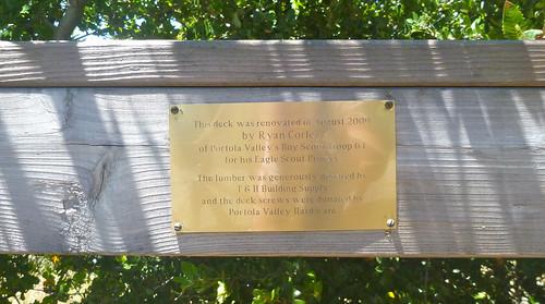eagle scout project plaque