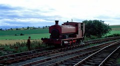 The LPR (Lochty Private Railway) was unusual among preserved railways as it was a privately run operation with public running days. The LPR line ran for 1 mile (actually 76ch) between Lochty and Knightsward on the former North British Railway Lochty freight branch from Leven in Fife. The line had be...