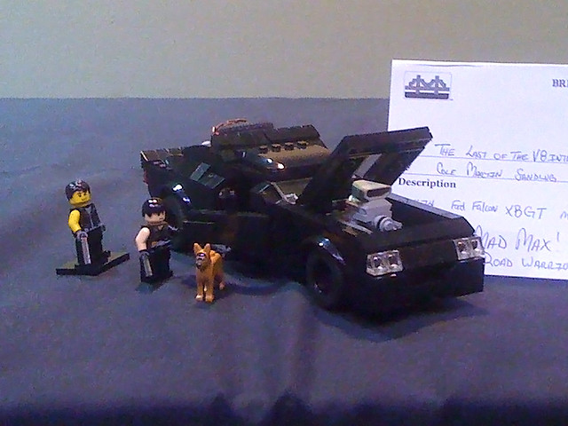 how to build a lego mad max interceptor