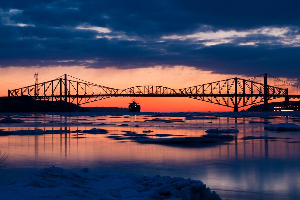 Pont de Quebec + Pierre-Laporte Bridges, Québec 15