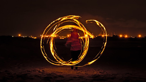 Fire Poi - Dance of the dragons