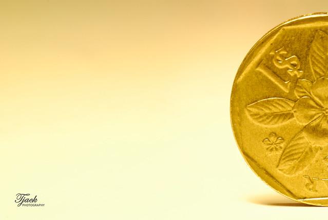 """Gold"" coin"