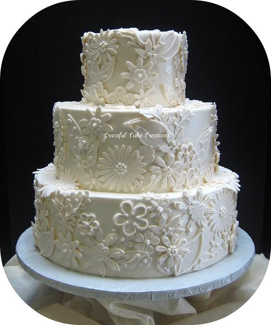 Cake With Fondant Lace : 5606948449_ea6026cc6a_z.jpg