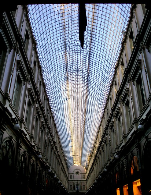 Bruselas. Galeries Royales Saint-Hubert-Brussels.
